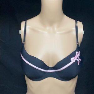 Size 36 B Victoria secrets Angels Secret bra Black